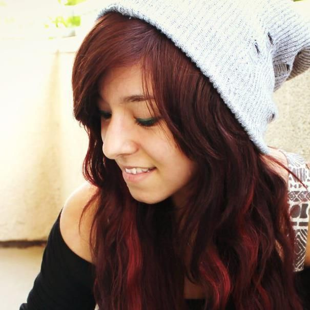 christina grimmie's hair.. <3