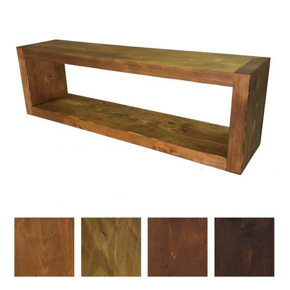 massivholz wandregal rustikales buchregal holz regal einrichten und wohnen regal wandregal. Black Bedroom Furniture Sets. Home Design Ideas