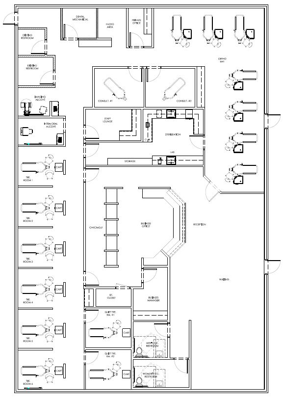 Pin by David Hashemi on My Dental Office Floor Plans in