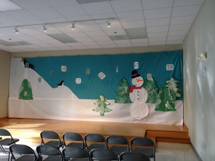 Classroom Decorating Ideas Elementary ~ Best school stage ideas images on pinterest xmas