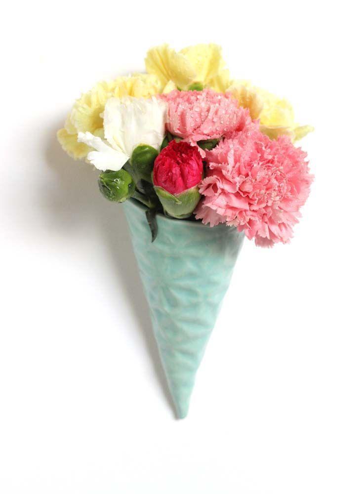 Takeawei Ice cream wall vase (photo by Luzena Adams) • Available at thebigdesignmarket.com