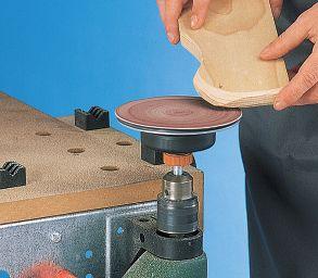 Lisciare il legno con platorello