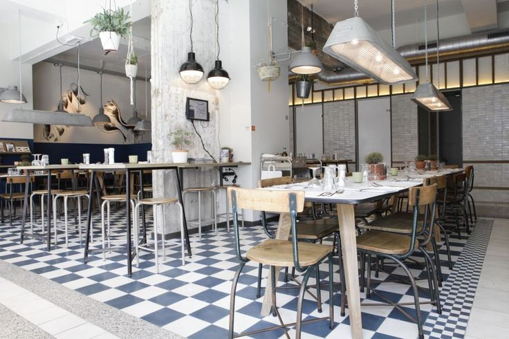 Cement tiles - Project De Pasta Kantine - Cafe - Restaurant