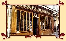Restaurant Polidor, 41 rue Monsieur Le Prince, Paris - not haute cuisine, but honest cuisine.  A favorite bistro to visit in Paris