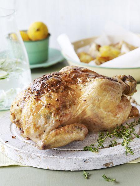Recepten - Braadkip met parmaham en citroen - Kip