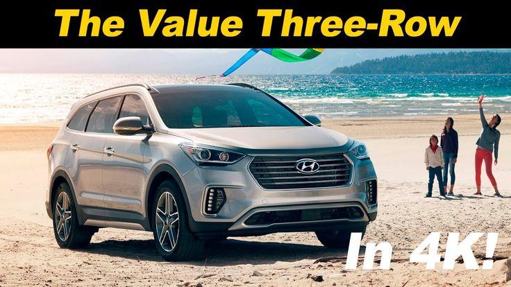 2017 Hyundai Santa Fe Review and Road Test   DETAILED in 4K UHD!