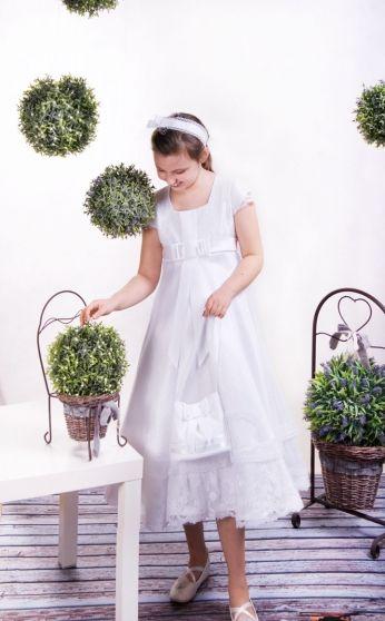 sukienki komunijne - communion dress - krótka sukienka komunijna