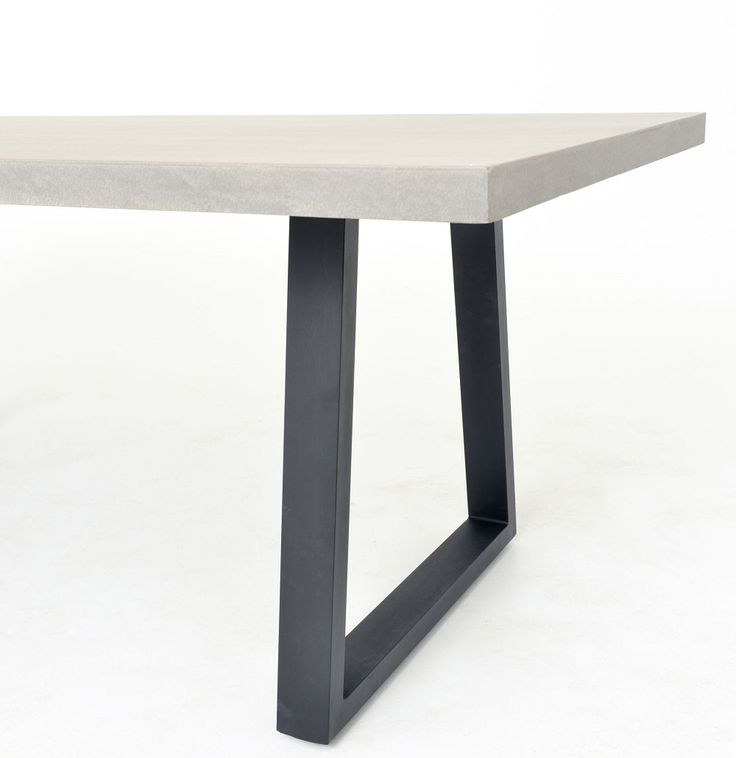 "Masonry Concrete 79"" Dining Room Table   Zin Home"