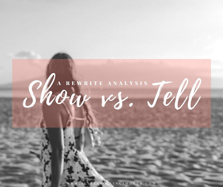 Show vs. tell is one of the most difficult things to learn as a young writer. I share an original draft and my annotated rewrite explaining my changes.