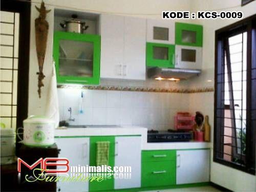 """Kitchen Set Hijau MBminimalis adalah toko online jual Furniture minimalis harga pabrik melayani pesanan """"Kitchen Set"""""""