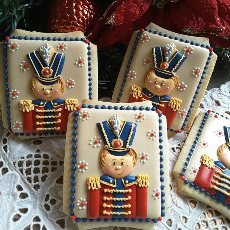 Soldier Christmas cookies