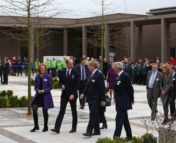 Prince William Photos Photos - Prince William, Duke of Cambridge is seen during the official opening of a new Remembrance Centre at The National Memorial Arboretum on March 29, 2017 in Stafford, England. The opening of the Remembrance Centre follows a major fundraising campaign supported by numerous individuals and organisations, including Staffordshire County Council, the Heritage Lottery Fund and The Royal British Legion. - The Duke Of Cambridge Opens New Remembrance Centre At The…