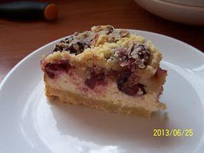 farkaselet: Meggyes - túrós - morzsás sütemény (diabetikus)