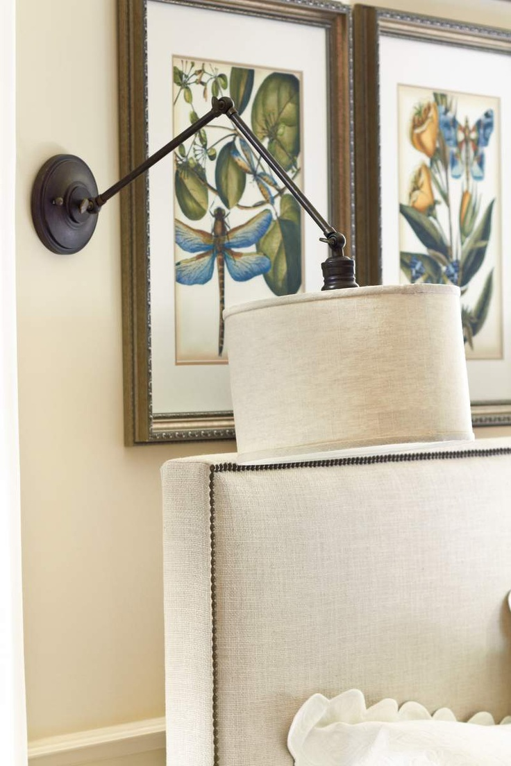 Master bedroom sconce? Katelyn Sconce - available May 2012 at ballarddesigns.com