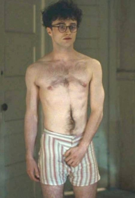 With Shirtless daniel radcliffe naked