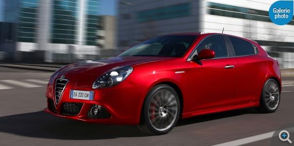 Alfa Giulietta TCT, la séductrice technologique : prix, photos, fiche technique...
