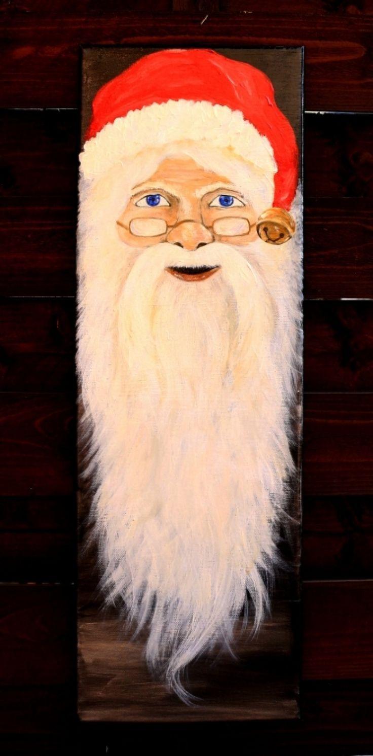 "Tablou+""Santa"""
