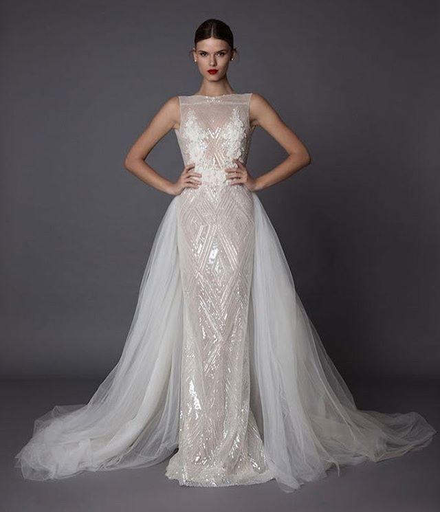 The 25 best detachable wedding skirt ideas on pinterest wedding musicie zobaczy przepikne suknie lubne muse by berta bridal foto junglespirit Images