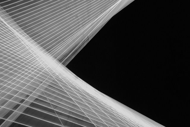 #lines #abstract #light wires @Saatchi Gallery exhibition