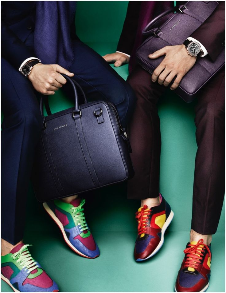 Burberry Highlights Suits & Sneakers for Spring 2015 Campaign