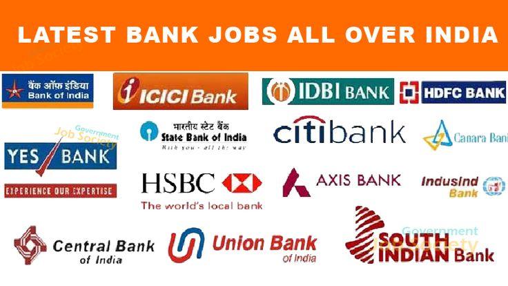 Latest Bank Jobs 2018 - Bank vacancies : All Banks jobs Details are listed here like Allahabad Bank Jobs, Andhra Bank Jobs, Bank of India Jobs, Bank of Baroda Jobs, Bank of Maharashtra Jobs, Canara Bank Jobs, Central Bank of India Jobs, Corporation Bank Jobs, HDFC Bank Jobs, Indian Bank Jobs, Punjab National Bank Jobs