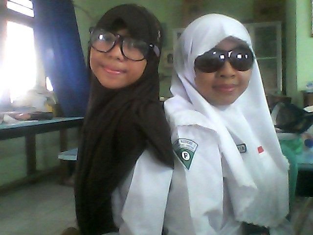 Mi'o with my friend 1