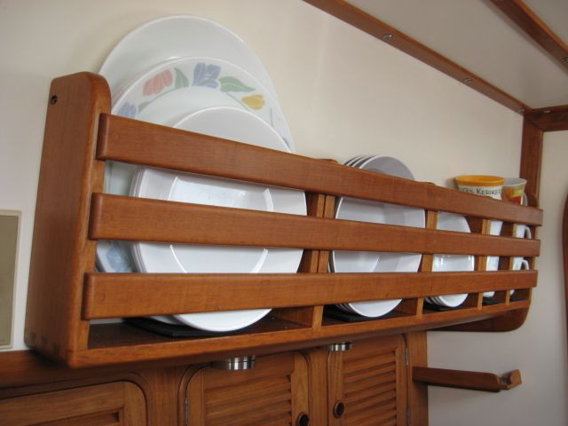 Boat Galley Ideas STORAGE