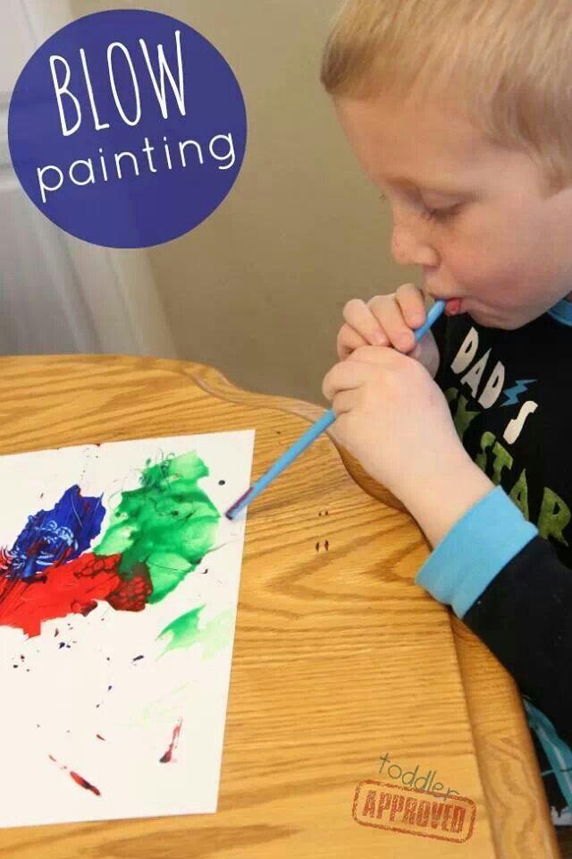 Blow Paint