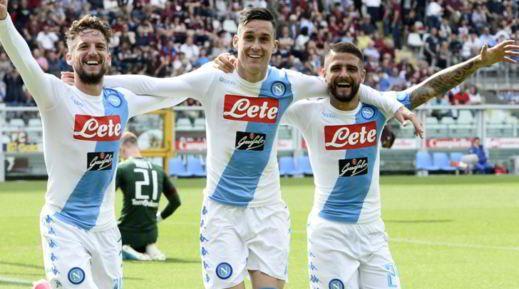 Fantacalcio: voti e assist 36 giornata Il Napoli ? il re della giornata con 5 goal al Torino. E naturalmente i migliori voti sono di Hamsik, Mertens, Callejon, altre sorprese sono Destro del Bologna e Iemmello. In questo articolo troverai  #fantacalcio #voti #assist
