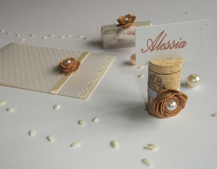 idea per i segnaposti per la tavola, idea for wedding