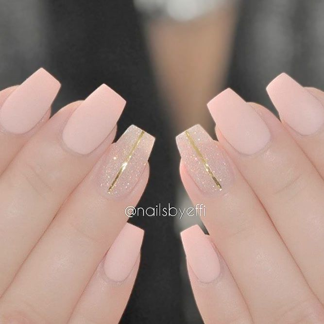 21 Cute Matte Pink Nails Designs: The New Classics ❤ Sweet and Cute Pink  Nail Polish picture 3 ❤ Despite the common belief, matte pink nails are  extremely ... - 21 Cute Matte Pink Nails Designs: The New Classics DIY Pinterest