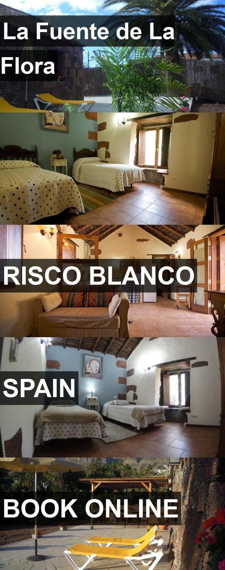 Hotel La Fuente de La Flora in Risco Blanco, Spain. For more information, photos, reviews and best prices please follow the link. #Spain #RiscoBlanco #travel #vacation #hotel