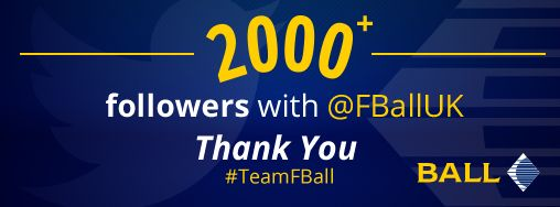 Well you did it #TeamFBall we have officially surpassed 2000 followers on our official F. Ball Twitter account!