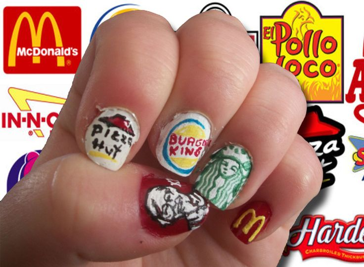 Nail Art Challenge, Day 30: FOOD!!!
