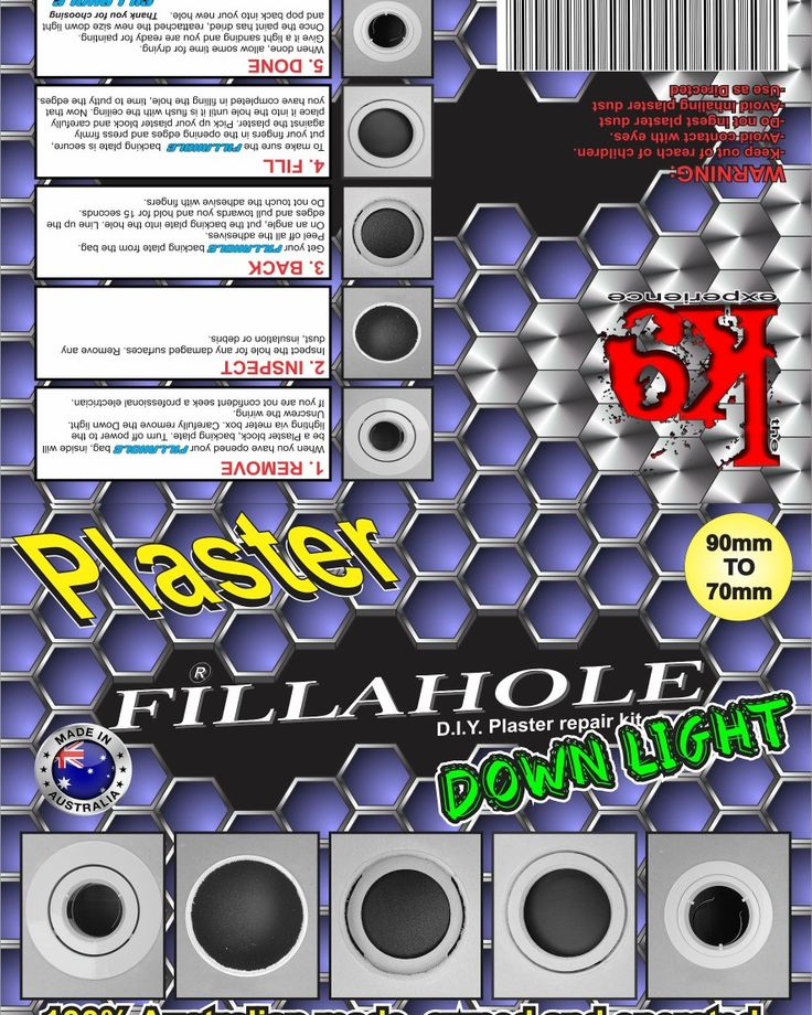Your Fillahole® D.I.Y Plaster repair kit releases in 16 days so be prepared!!! WHY FILLAHOLE? CAUSE FILLAHOLE FILLS IT!