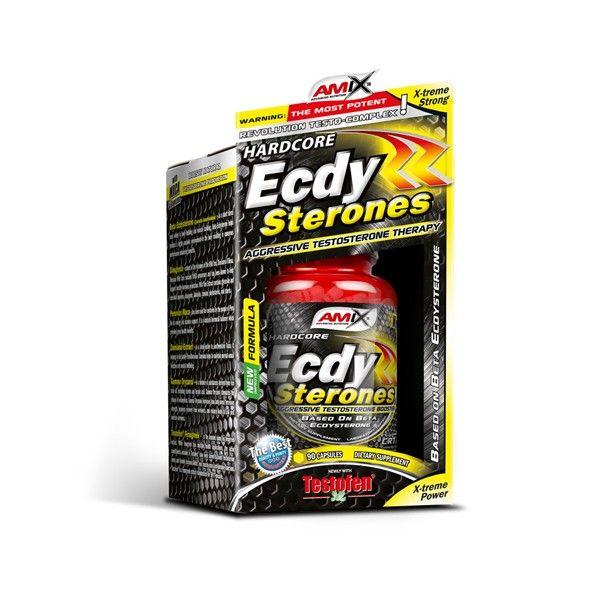 AMIX™ Ecdy Sterones je komplex přírodních extraktů s obsahem ecdysteronů.