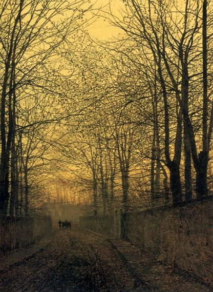 John Atkinson Grimshaw - October Gold, 1889