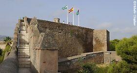 © Michelle Chaplow The Gibralfaro fortress of Malaga.