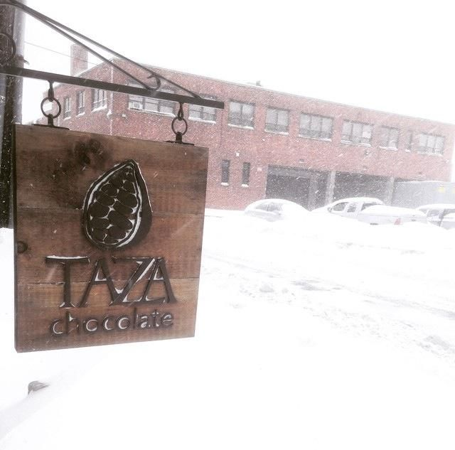 Taza makes stone ground chocolate that is unlike any of the chocolate you're used to.