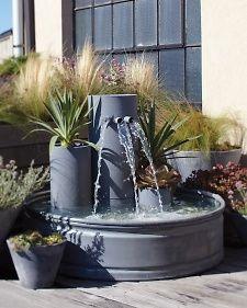 garden waterfall fountain - Waterfall Fountain