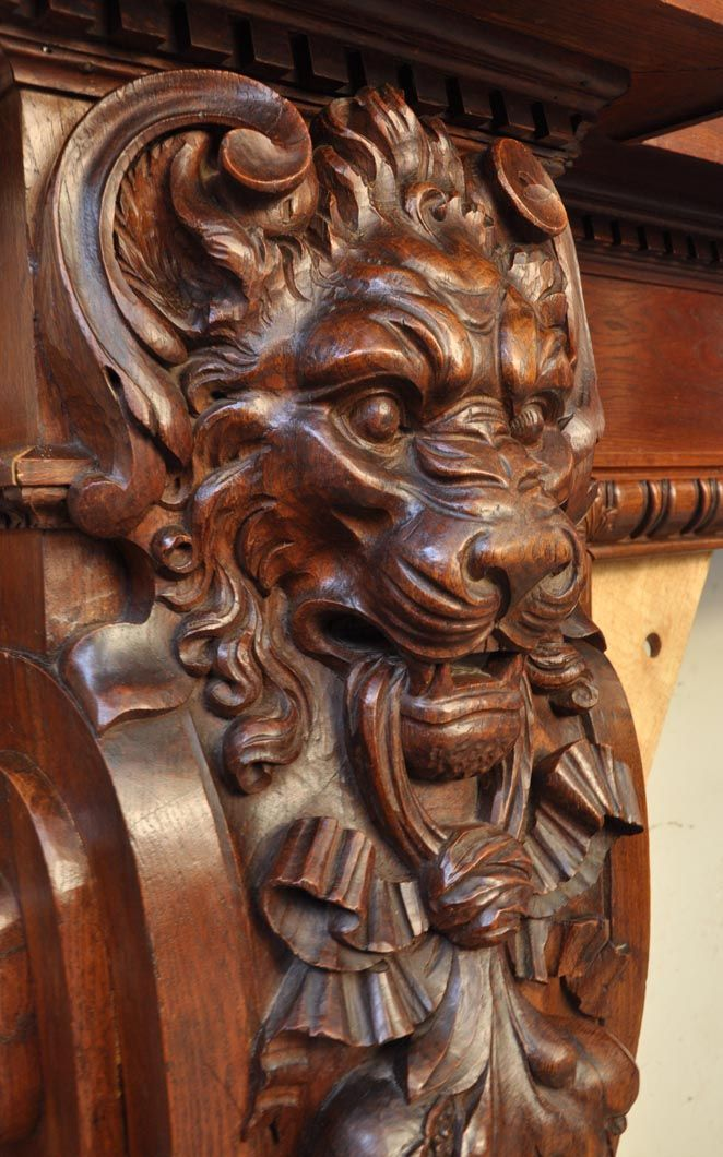 41 Best Ship S Cat Heads And Lion Head Carving Images On