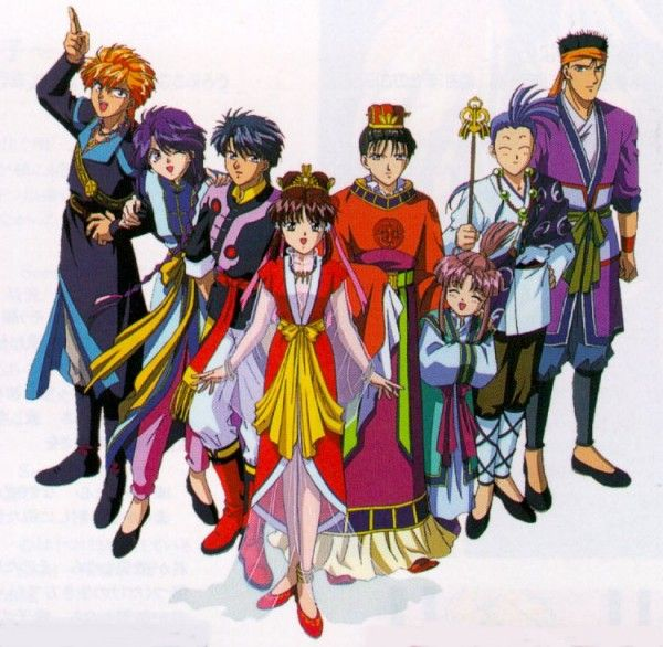 Anime In Gma List: 78 Best Images About Fushigi Yuugi On Pinterest