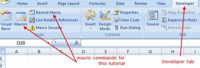 Excel Macro Tutorial