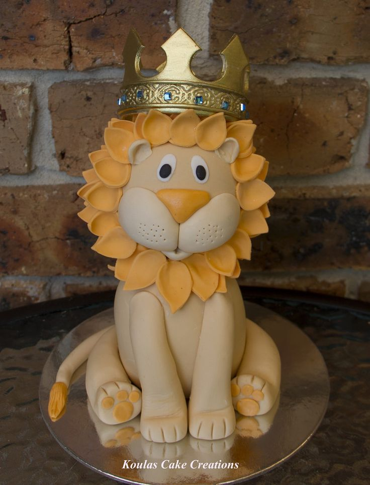 Lion King Cake Topper | by Koulas Cake Creations