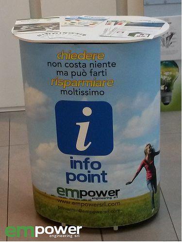 infopoint EM Powower al centro commerciale Conè di Conegliano! Rispondiamo a tutte le tue domande per il tuo risparmio energetico!