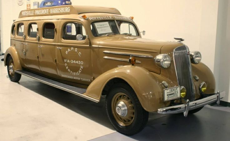 1936 Chevrolet Fitzjohn Stretchout Capitol Bus Vehicles