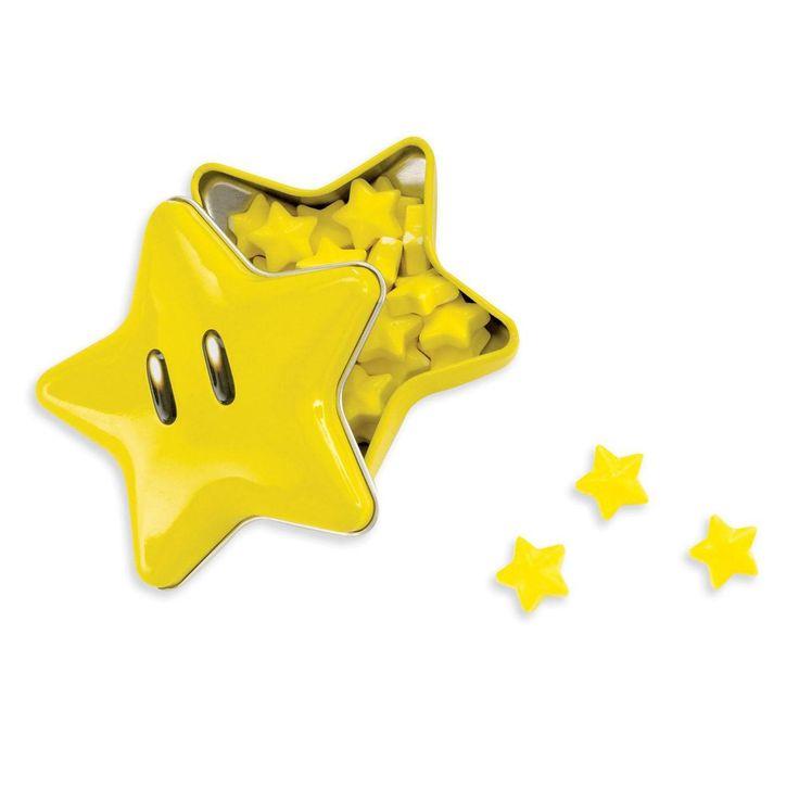 Super Mario Star Candy Pieces