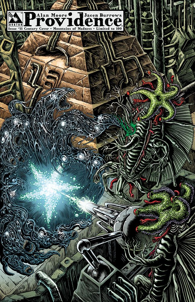 Providence issue 11 - limited edition century variant 07: Mountains of Madness. Alan Moore, Raulo Caceres (Avatar Press)