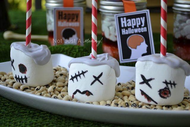 Zombi nubes / Zombie marshmallows