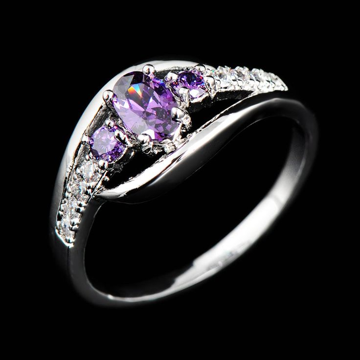 Macy Wedding Gifts: Rings, Purple Amethyst, Wedding